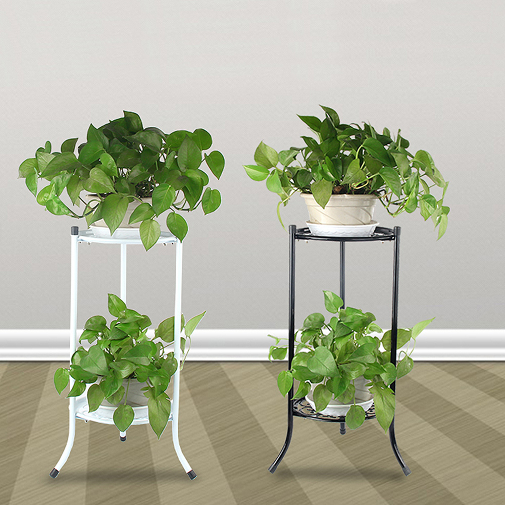 Plant Pot Stands Flower Display Shelf