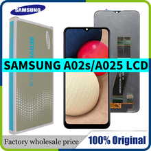 """6.5 """"Nieuwe Originele Voor Samsung Galaxy A02s Lcd A025M A025F/Ds A025G/Ds Lcd Touch Screen digitizer Vergadering Vervanging"""