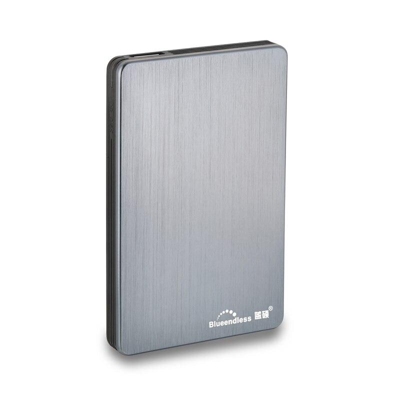 Blueendless USB 3,0 портативный внешний жесткий диск HDD 2,5 дюйма 1 ТБ 2 ТБ 500 Гб 320 Гб внешний диск Жесткий диск для настольного ноутбука