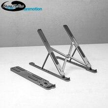 Laptop bracket aluminum alloy bracket desktop heightening portable radiator folding