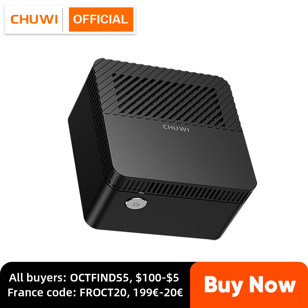 CHUWI LarkBox World's Smallest 4K Mini PC Intel Celeron J4115 Quad Core 6GB RAM 128GB ROM Windows 10 Desktop Computer HDMI USB C|Mini PC| - AliExpress