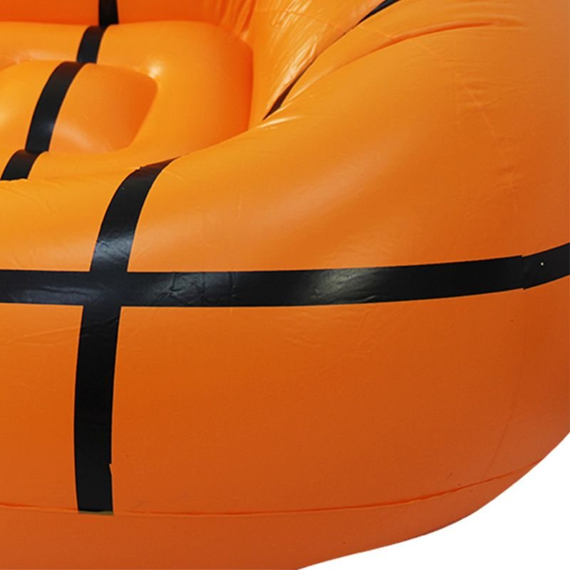 Inflatable Sofa Basketball/Football Shape Lounger Chair for Adult Kids Couch