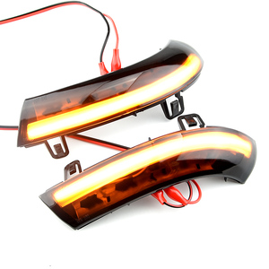 Image 3 - Water Blink Dynamic Flowing Side Mirror LED Turn Signal Light For VW Passat B5.5 B6 R36 R32 Jetta MK5 Golf 5 GTI Sharan SuperB
