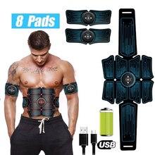 Electrostimulation Muscle Stimulator EMS Abdominal Vibrating Belt ABS Muscular Hip Trainer Massage Home Gym Fitness Equipment