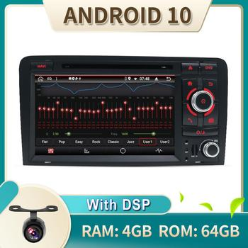 With DSP Autoradio GPS 4G RAM+64G ROM For Audi A3-8P-S3-RS3-Sportback Fit Year 2003-2011 Car Radio Multimedia Video Player AMP image