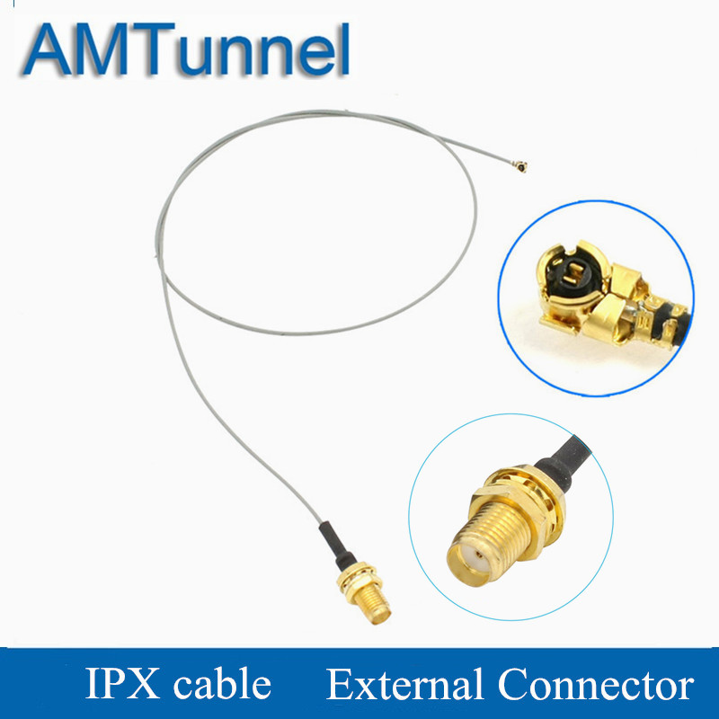 IPX To RP-SMA Jack Female Connector Cord UFL To RP SMA Connector Extensional Cable 50cm For Routers WiFi Antennas