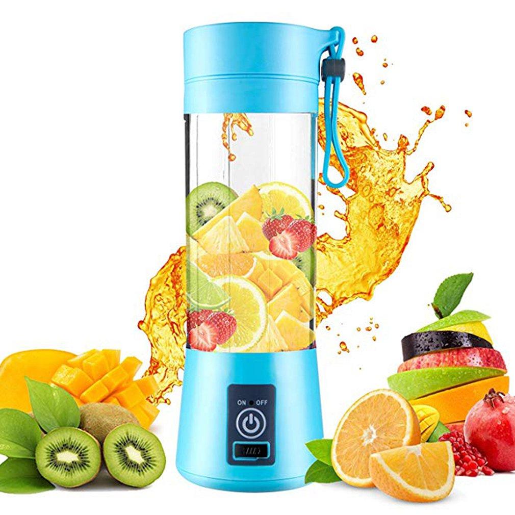 Portable USB Rechargeable Fruit Juicer Handheld Smoothie Maker Blender Stirring Mini Portable Juice Cup Water
