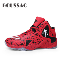 BOUSSAC Mens Basketball Shoes Breathable Jordan Sneakers Light Training Outdoor Gym Sport Zapatillas Hombre