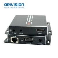 ZY-CH302 4K * 2K 70m HDMI Extender sobre CAT6 cable 1080P RS232/POC/Dirección de control IR/HDCP/EDID