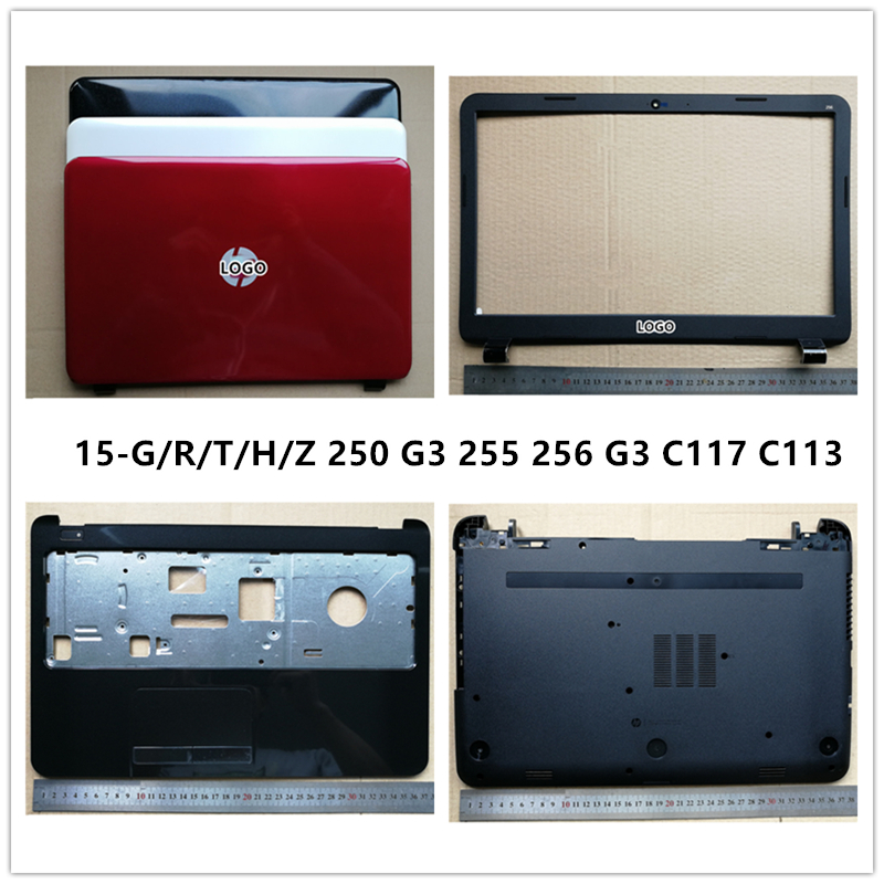 New laptop For <font><b>HP</b></font> 15-G/R/T/H/Z <font><b>250</b></font> <font><b>G3</b></font> 255 256 <font><b>G3</b></font> C117 C113 LCD Back <font><b>Cover</b></font> <font><b>Top</b></font> <font><b>Case</b></font>/Front Bezel/Palmrest/Bottom Base <font><b>Cover</b></font> <font><b>Case</b></font> image