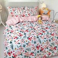 Tessili per la casa denso moda Cactus stelle morbido copripiumino federa lenzuolo King Queen Twin alta qualità per Set biancheria da letto per la casa