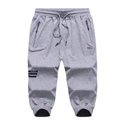 2018 Mens Shorts Casual Bermuda Brand Knee Length Compression Male Cargo Shorts Men Linen Fashion Men Short Summer