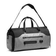 Wielofunkcyjny męski garnitur przechowywanie torba podróżna torby podróżne o dużej pojemności torebka męski wodoodporny podróżny worek marynarski kieszeń na buty tanie tanio weysfor CN (pochodzenie) Oxford Versatile 10 2inch 20 4inch zipper Podróż torba 1 6kg 20714D SOFT Moda 12 9inch Patchwork