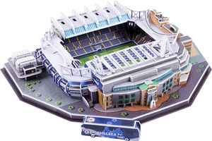 Image 5 - קלאסי פאזל DIY 3D פאזל עולם כדורגל אצטדיון אירופאי כדורגל משחקים התאסף בניין דגם פאזל צעצועים לילדים