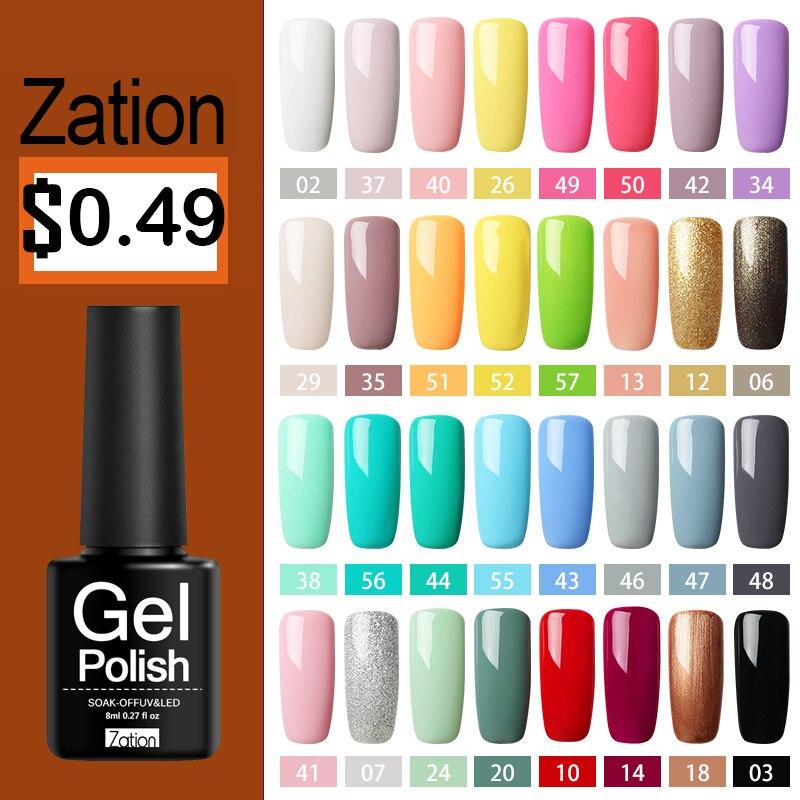 Gel Varnish Uv Gel Nail Polish Top Gel Lacquer Nail Paint UV Led Gel Nail Art Varnish Hybrid Soak Off Gel Polish
