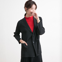 Fold Cardigan Women's clothing Thickening 2019 New style in autumn and winter Leisure time Arbitrary collocation Women's Coat стоимость