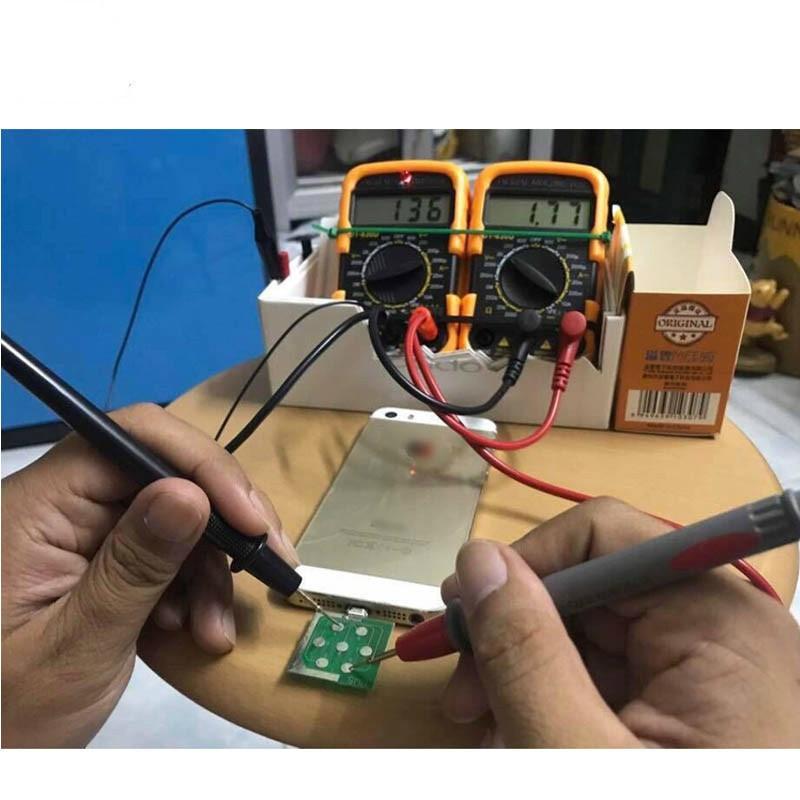 Купить с кэшбэком PHONEFIX Micro USB Dock Flex Test Board for iPhone 6 7 8 And Android Phone U2 Battery Power Charging Dock Flex Easy Testing Tool