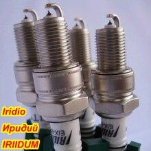 4ชิ้น/ล็อตIRIDIUM Spark Plug EIX BPR6สำหรับBPR6ES BPR6EIX BPR6EGP IW20 IW16 PW20TT W20EXR U XP63 XS63 RS35 VW20 WR7DS N10PY