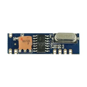 Image 2 - 433MHz 100 Meters Wireless Module Kit ASK Transmitter STX882 + ASK Receiver SRX882 + 2Pcs Copper Spring Antenna