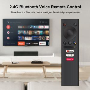Mecool V01 Remote Voice Control Gyroscope Sense bluetooth Remote Control for Mecool KM9 pro KM3 KM1 Android 10.0 TV Box(China)