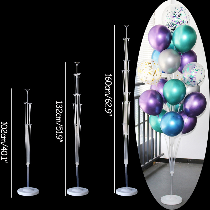 70/100/130cm balloon Stand Wedding Decoration Happy Birthday Party Balloon Stick Holder Baloon Accessories Festival Globos