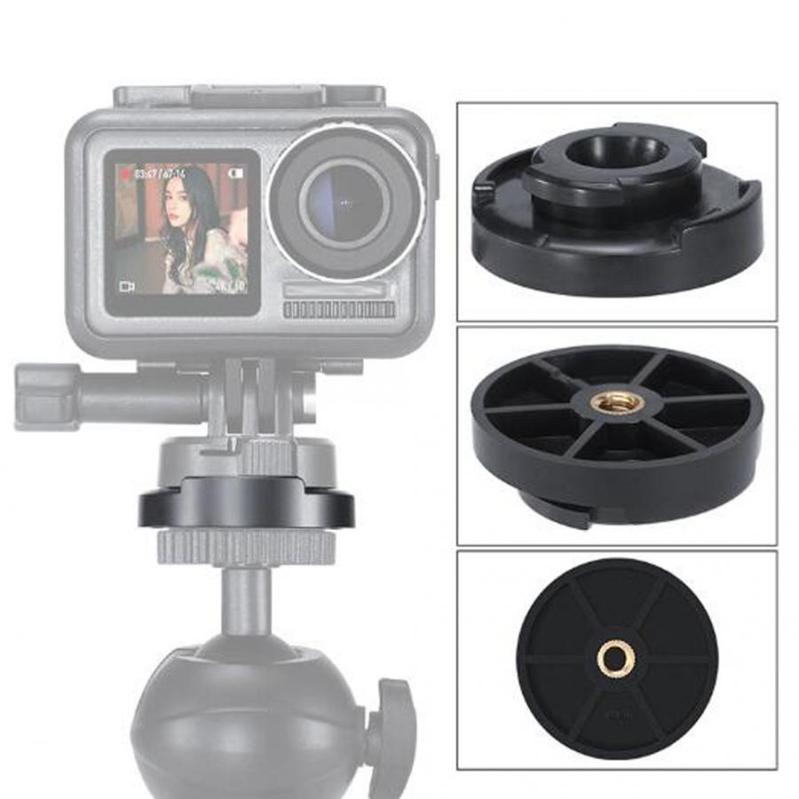 Ulanzi U-12 Quick Release Mounting Adapter Base Accessories For DJI Osmo Action Sports Camera Accessories