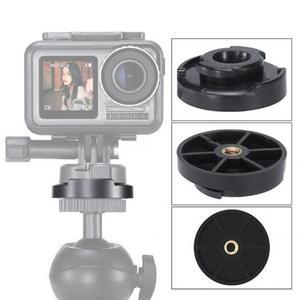 Image 2 - Ulanzi U 12 liberação rápida adaptador de montagem base para dji osmo acessórios da câmera esportes ação cardan dslrs cardan acessórios