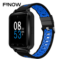Finow Q2 4G Смарт-часы для мужчин Q1 Pro обновленный Android 6,0 MTK6737 четырехъядерный 1 ГБ/16 ГБ Смарт-часы телефон сердечный ритм шагомер sim-карта