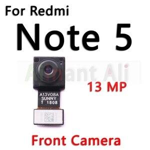 Image 4 - Original pour Xiaomi Redmi Note 5 5A Pro Plus petit avant et principal grand arrière caméra câble flexible