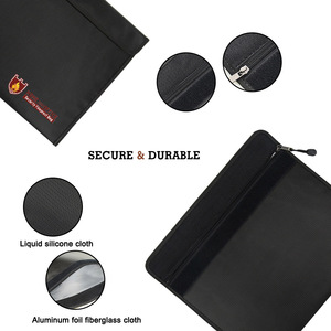 Image 2 - Fireproof Document Bag Waterproof Fire Resistant Pouch for Files Money Documents SP99