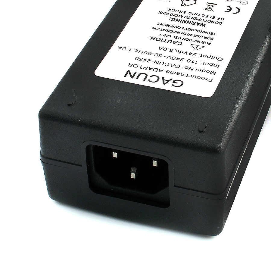 24 v adaptador de alimentação 24 v 2a fonte 1a 3a 5a volt driver adaptador de alimentação regulada 24 v 24 w 48 w carregador de comutação led driver