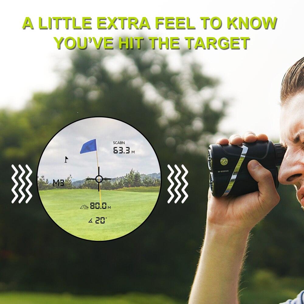 Tools : Professional Golf Rangefinder Slope Correction Jolt Vibrate Flag-Lock Golf Range Meter USB Recharge