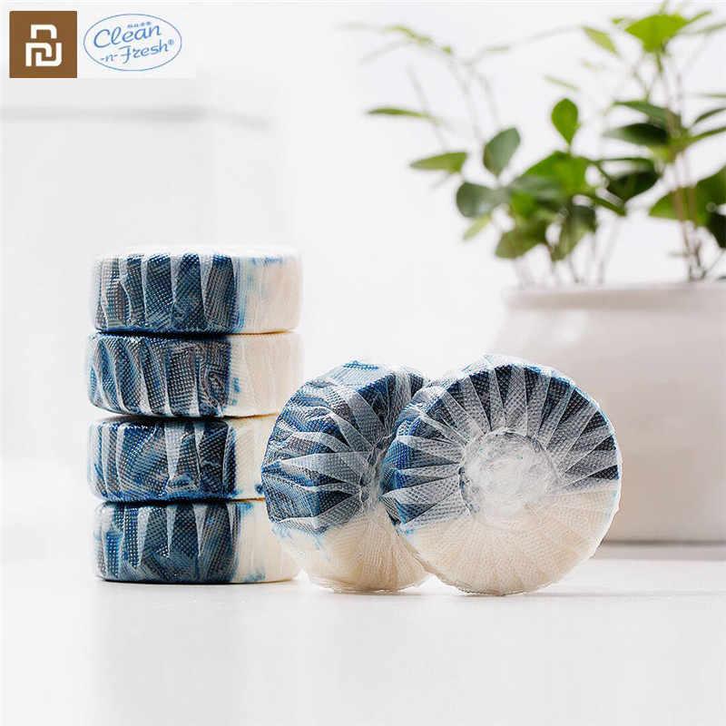 Youpinクリーンアップn-新鮮な自動フラッシュブルートイレクリーナーためxiaomi mijiaクリーニング家庭用浴室トイレクリーナー