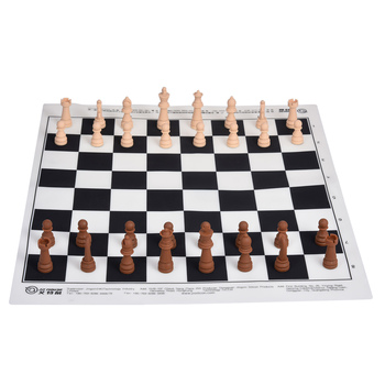 Beginner Silicone Chess Set International Portable Chess Board Game Toy With Storage Bag Family Travelling Game Toy Gift For Kid