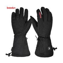 1 Pair Winter Hand Warmer Cycling Motorcycle Bicycle Ski Gloves Electric Thermal Rechargeable Battery Heated