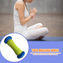 Yoga Leg Arm Muscle Massager Foot Massage Roller Plantar Fasciitis Pain Relief for Work-out Relaxation Accessories(China)