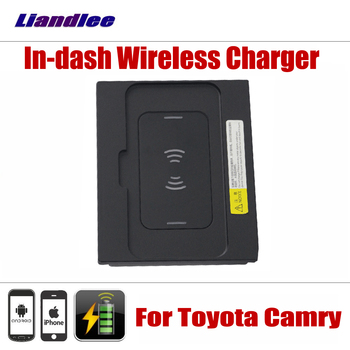 Accessories For Toyota Camry 2018-2019 Special hidden In-dash Car Wireless Charger Storage For IPhone Android Battery Charger image