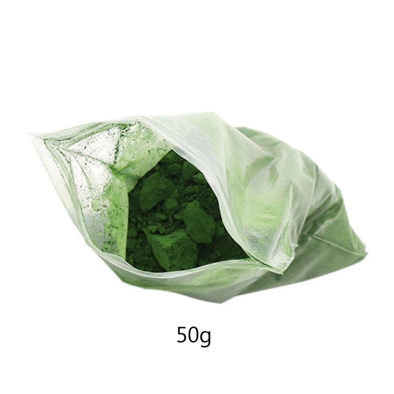 50g Jade Emerald Agate Polishing Powder Glass Composite Chromium Oxide Power 95AA