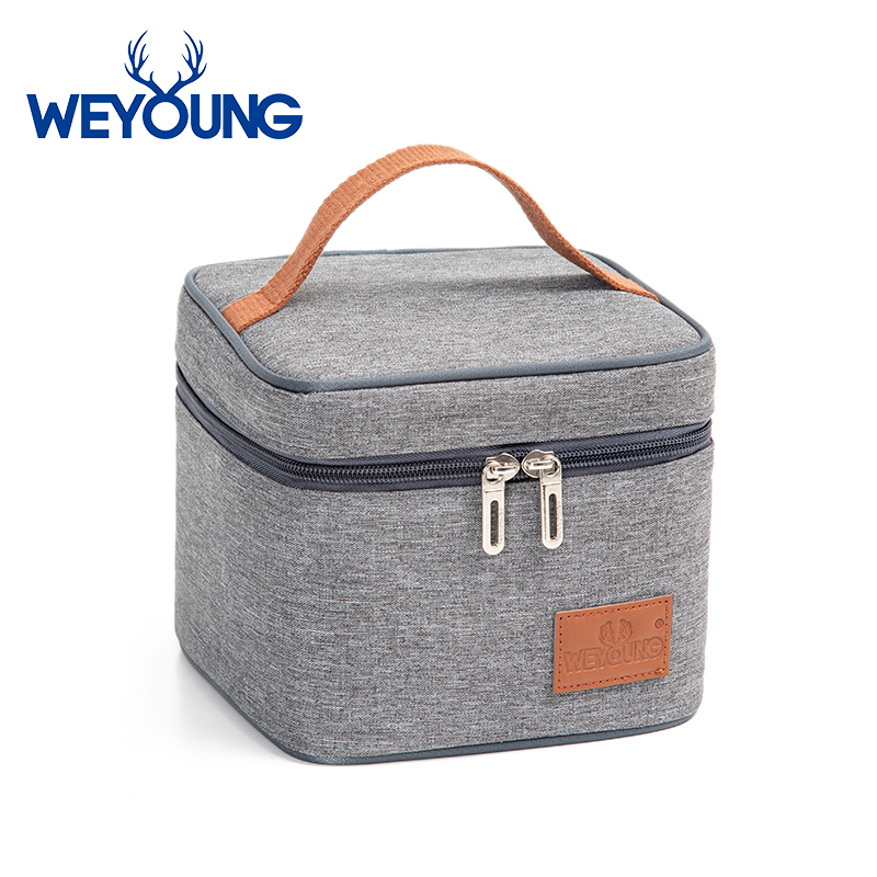 Tote Women Insulated Thermal Cooler Bento Lunch Box Outdoor Picnic Storage Bag Pouch Lunch Bags