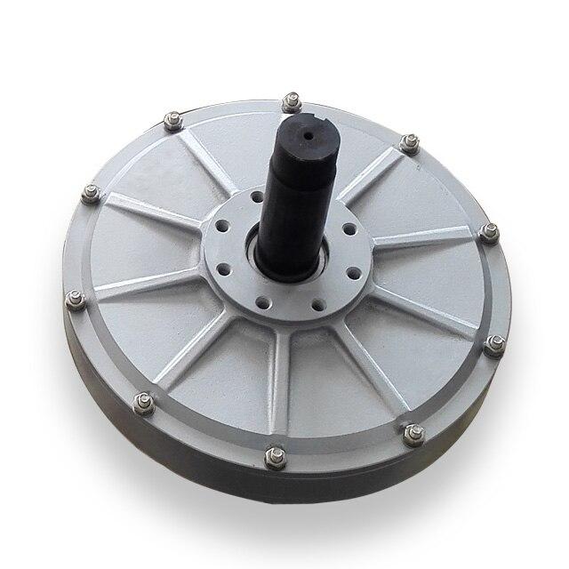 PMG165 300W 1200RPM generador de PMG sin núcleo/generador de rotor interno del alternador del viento, alternador de imán permanente de tres fases