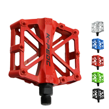 цена на Bicycle Pedals MTB Bike Road Bike Pedales Anti-slip Ultralight Aluminum Alloy Bicycle Accessories 5 Colors