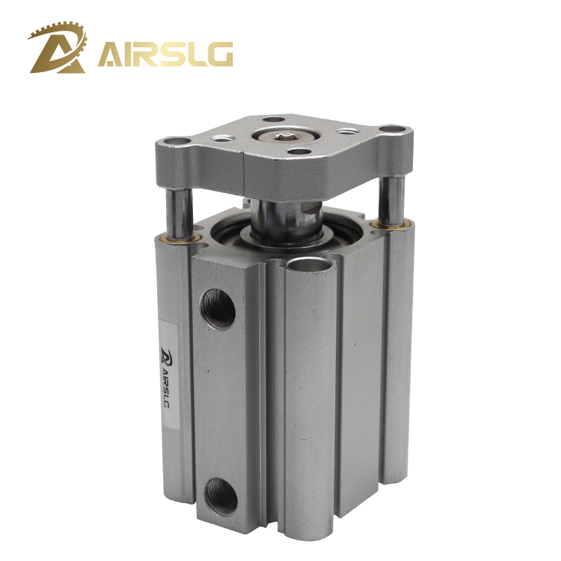 Double Acting guide rod compact air pneumatic cylinder Built-in Magnet CDQMB 20 25 32 bore 20 25 32mm stroke 5-100mm CQMB20 25()