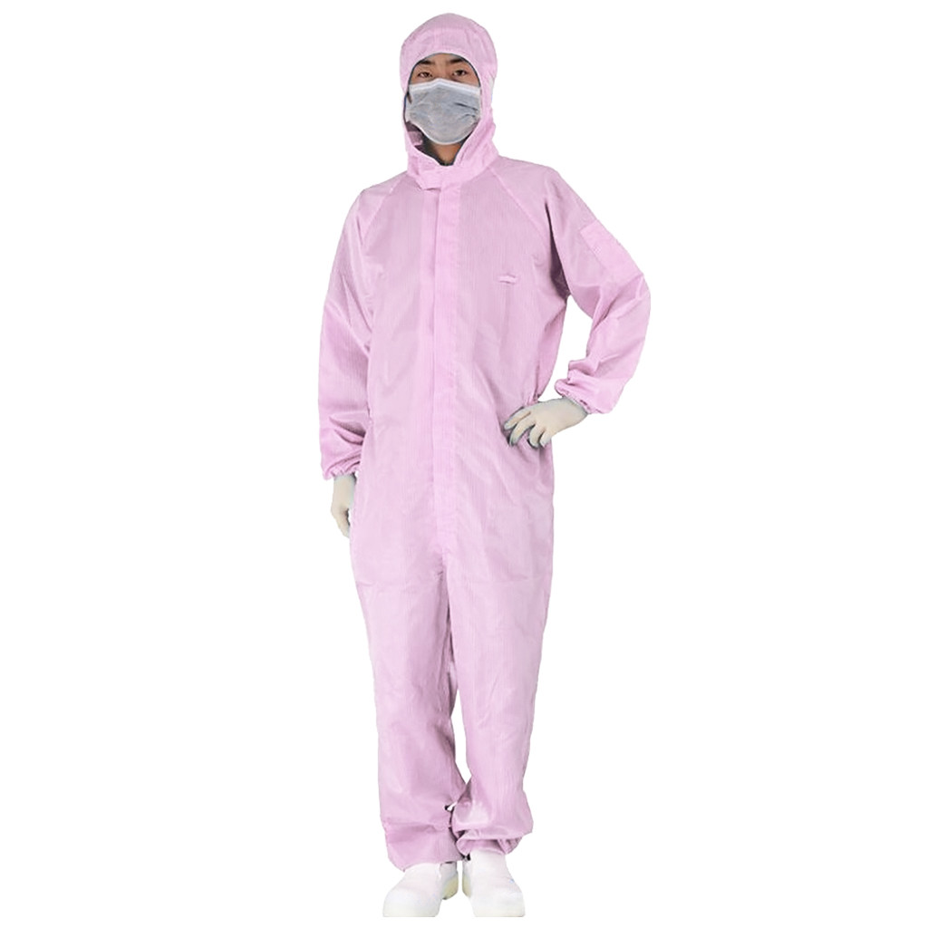 Disposable Protective Clothing as Coverall Medical Uniform and Isolation Suit for Nurse and Doctors