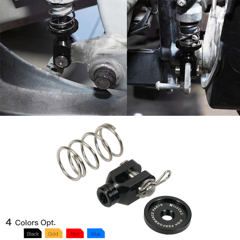 NICECNC ATV Rear Brake Clevis & Rear Brake Return Spring For Yamaha RAPTOR 700 2006-2020 RAPTOR 700R 2013-2020 RAPTOR 700 700R