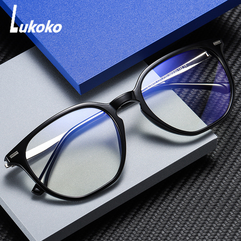 LUKOKO Anti Blue Light Radiation Ray Blocking Blocker Glasses For Men Women Computer Gaming Glasses Lentes Anti Luz Azul Goggles
