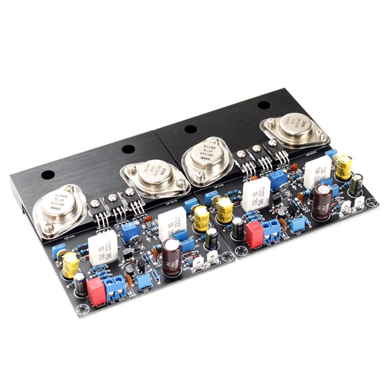 New Golden Seal IRF240 IRF9240 Power Amplifier 80W Stereo Class A Sound Amplifier DIY Speaker Amplificador Home Theater