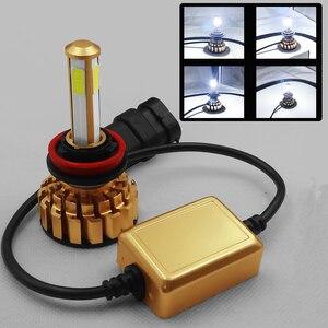 Image 3 - 12000Lm 6500K H4 LED H7 hb4 9006 hb3 9005 H8 H11 Auto Auto Scheinwerfer Lampen 4 Seite Chip Leds auto Lichter Lampen LED H4 H7 Auto Lampen