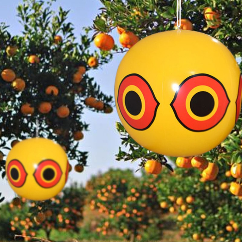 Anti-Bird Repellent Inflatable Scare Eye Balloons Hunting Pest Controller Repellent Visual Deterrent Orchard Pest Protector3