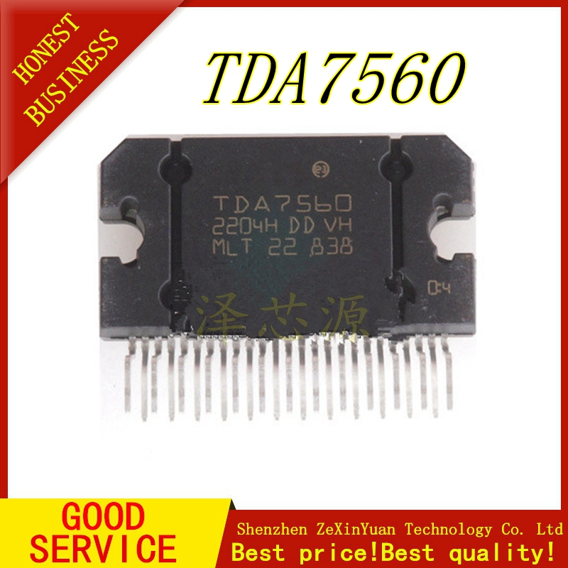 1PCS/LOT TDA7560 ZIP TDA 7560  ZIP-25 Original IC