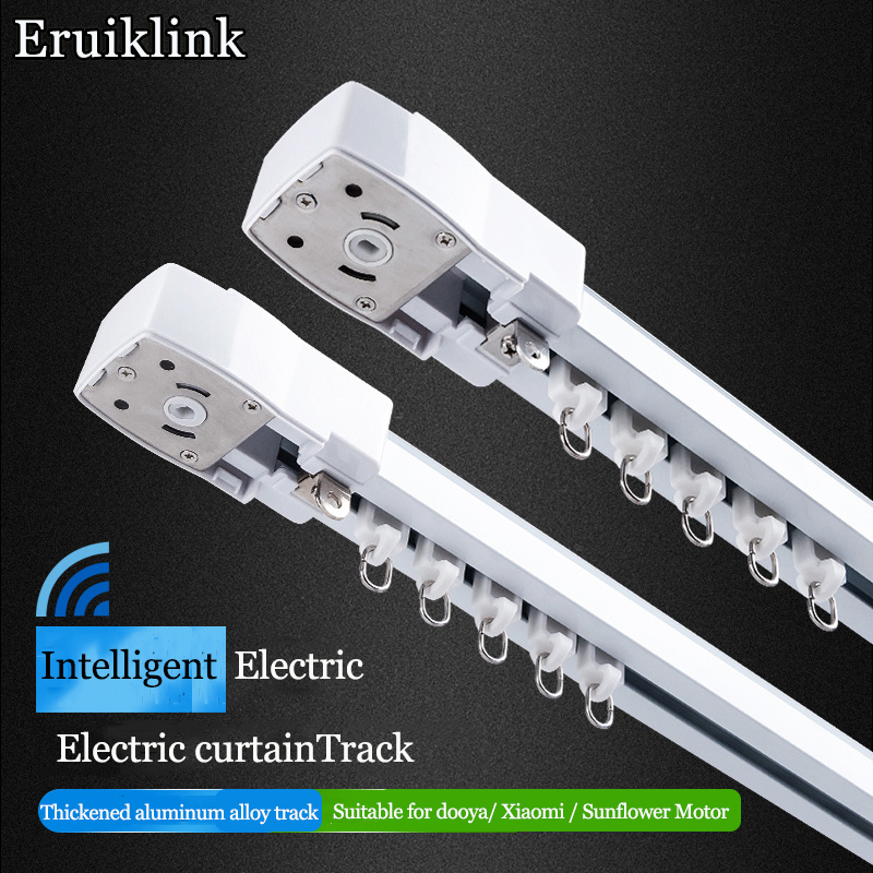 Customizable Electricultra-quiet  Curtain TrackDOOYAKT82 /DT82 Zigbee Wifi Motor  Suitable For Smart Homes In Major EU Countries